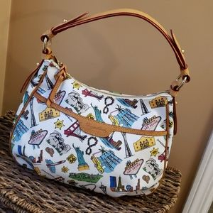 Dooney and Bourke Americana hobo style bag